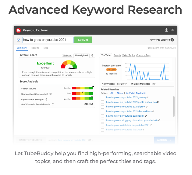 YouTube Keyword Research Tool